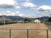 西脇公園 テニスコート
